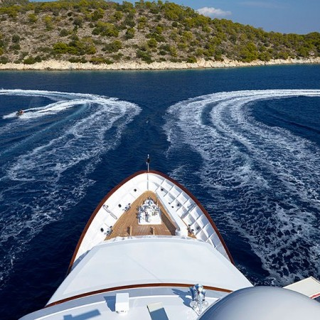 Ancallia luxury yacht charter
