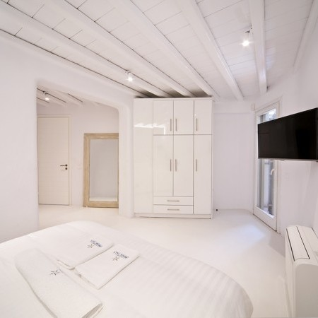 white double bedroom