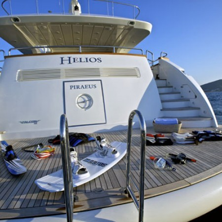 yacht tender and water sports