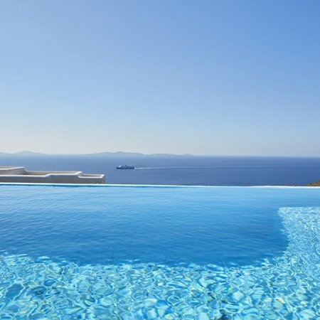 Mykonos Villa private pool