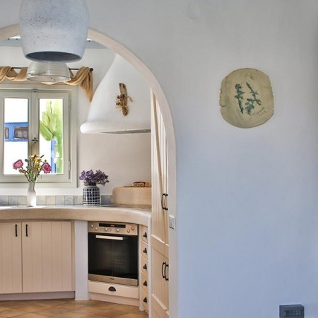 Fully equipped kitchen at villa