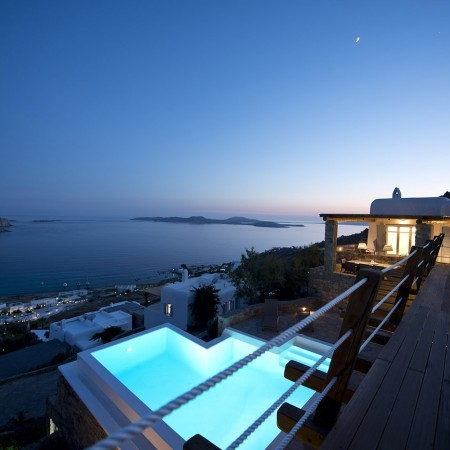 Mykonos luxury villa with pool