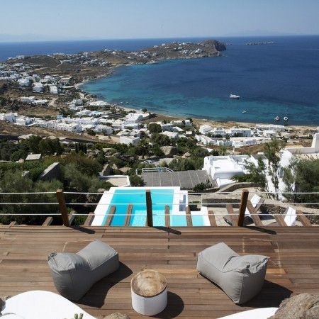 luxury villa for rent in Agios Ioannis Mykonos