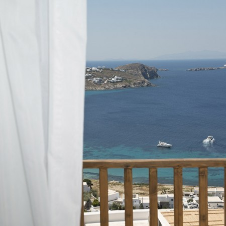 mykonos villa with sea view