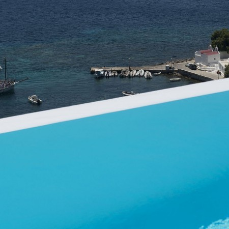luxury villa Mykonos infinity pool