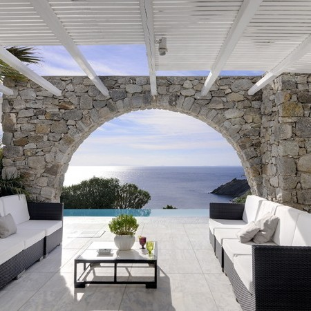 Villa magia outdoor relaxation lounge