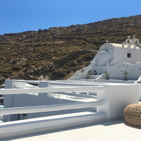 Luxury Villa Rent at Psarou Beach Mykonos