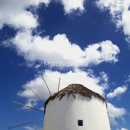 Mykonos windmill for rent