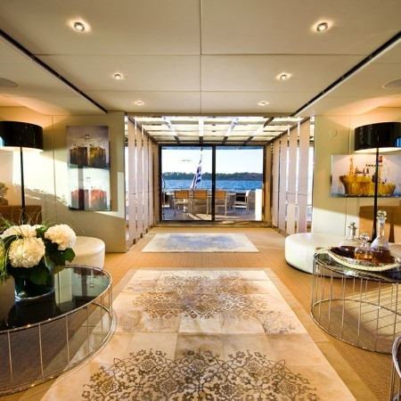 Pandion yacht main salon