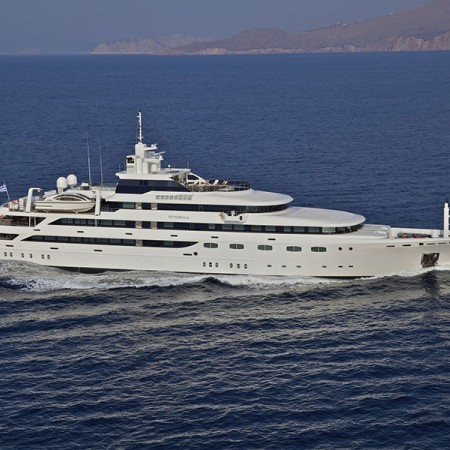 Luxury Superyacht OMEGA