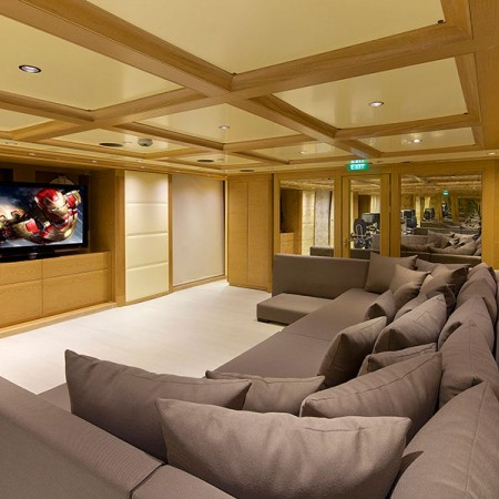 Omega yacht cinema