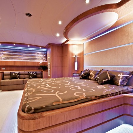yacht double cabin