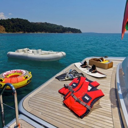 Thea Malta tenders and water sports