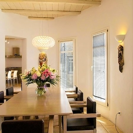 Villa Bellina dining area