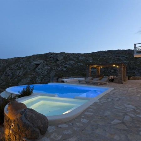 casa bedrock night pool