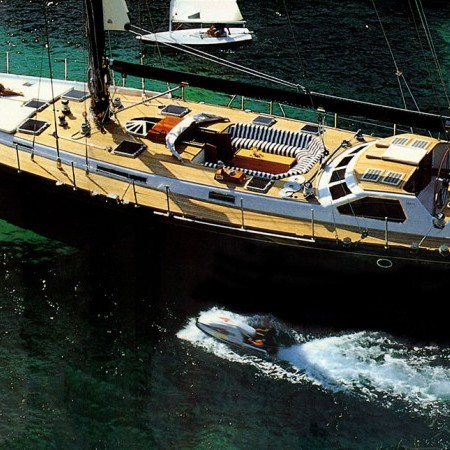 luxury sailing yacht Greece