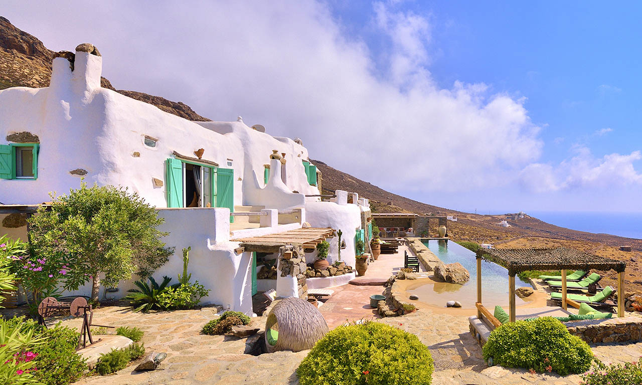 Best Island Beaches For Partying Mykonos St Barts: Exceptional Villa For Rent In Tigani