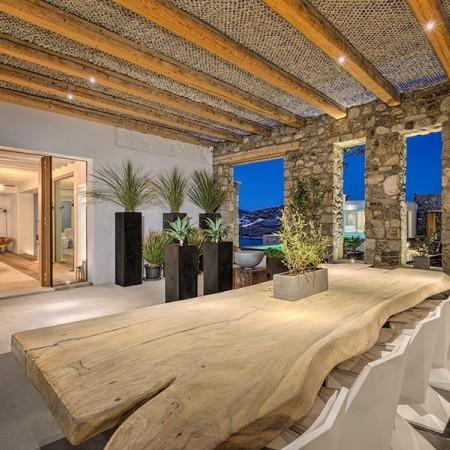 9 Bedroom Luxury Villa Rental  in Myconos