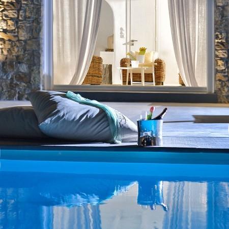 luxury villa Mykonos island