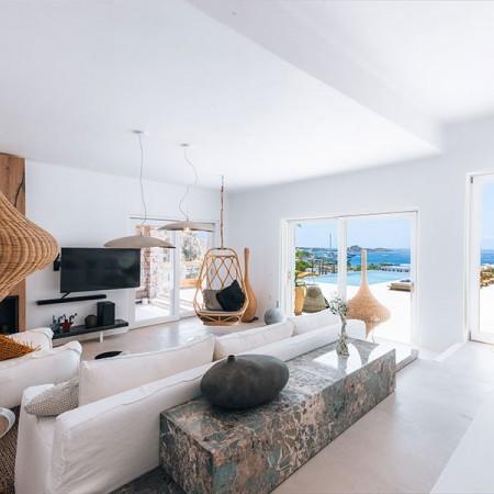 main living room indoors at villa Beauregard