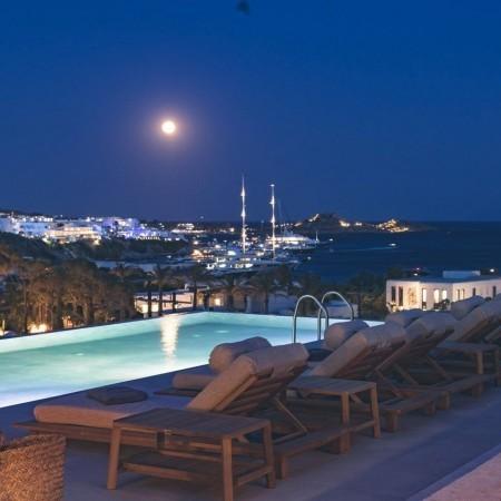 villa Beauregard Mykonos sea view