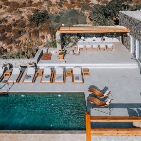 villa psarou Mykonos