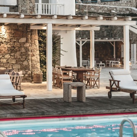 the pool are of villa Aaliyah