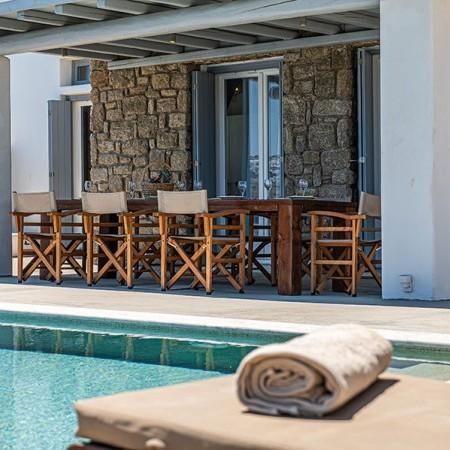 home rental in Myconos