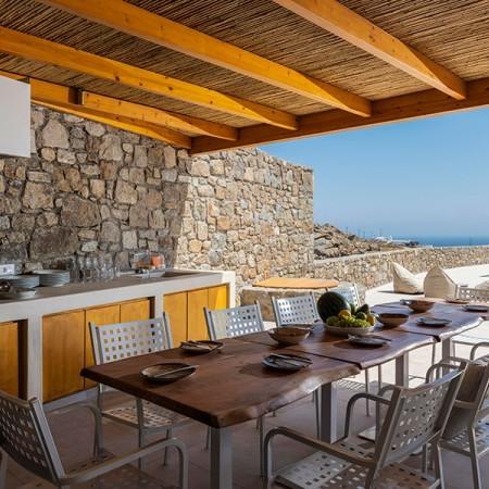 dining area exterior
