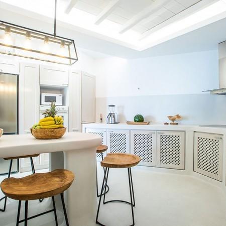 living area indoors