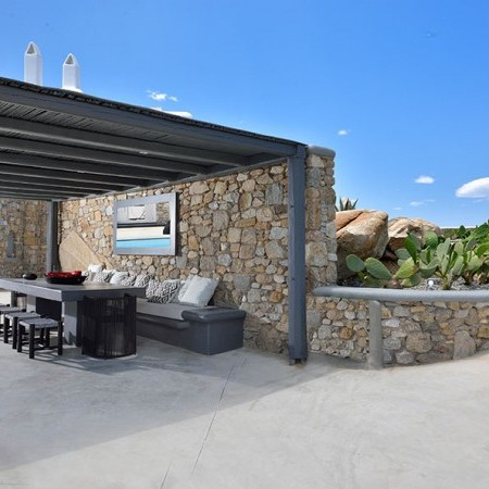 mykonos villa Basil 3