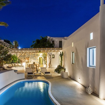 villa for rent in Mykonos Town