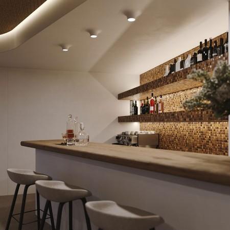 bar at villa Aenaon