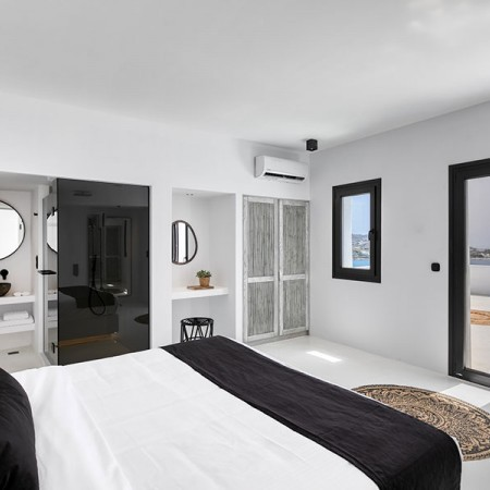 one of the master bedrooms