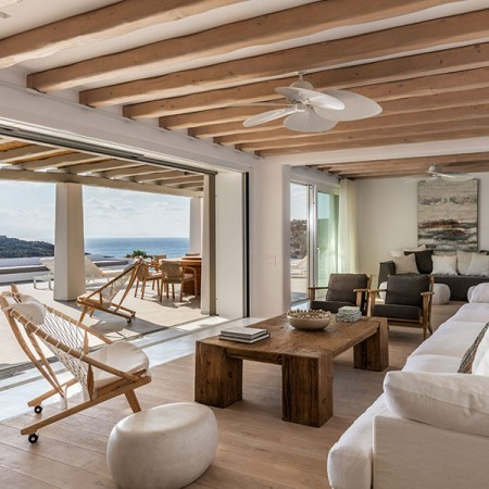 Ivoire luxury villa for rent in Mykonos