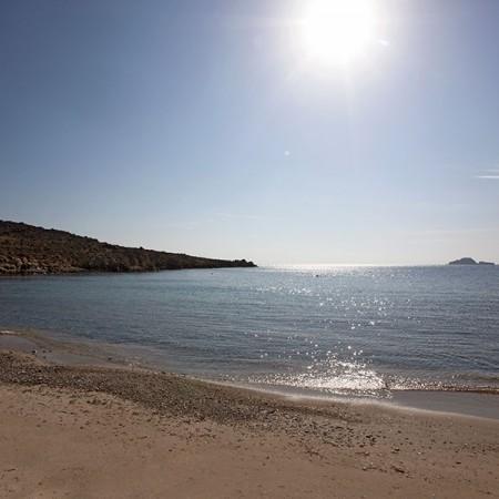 the beach that villa Ivoire has access