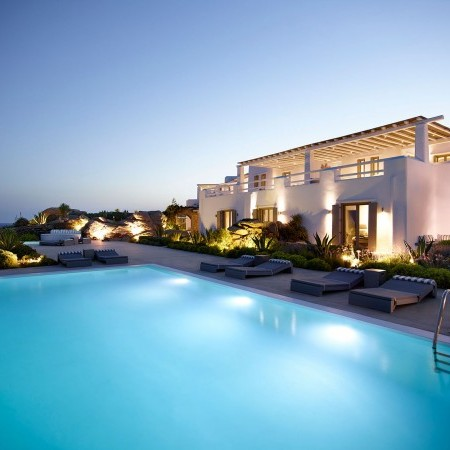 Aegli Retreat in Mykonos 16 Bedrooms