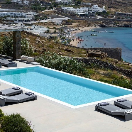 16 bedroom luxury villa rental in Mykonos