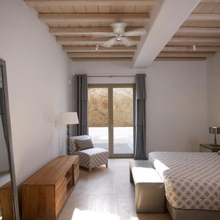 luxury bedroom with ensuite bathroom