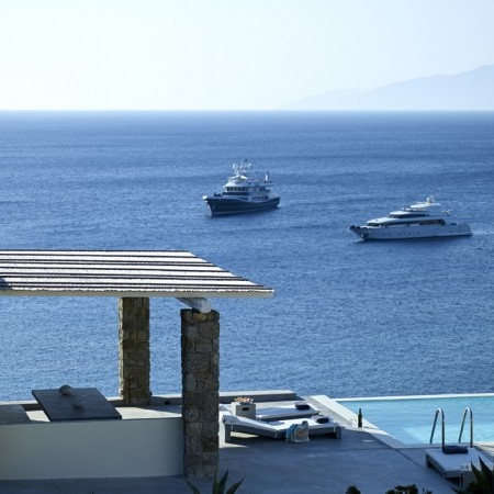 amazing sea view villa mykonos