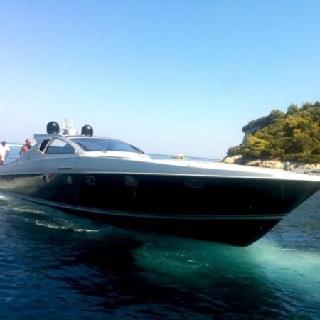 mykonos yacht cigarette 55