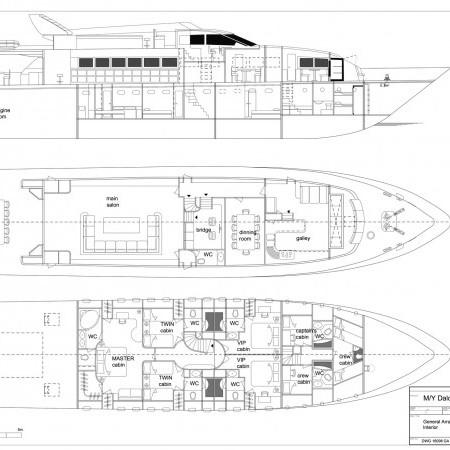 Daloli yacht layout