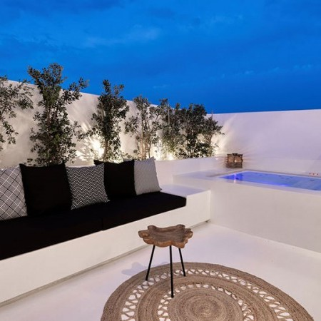 lounge area outdoors