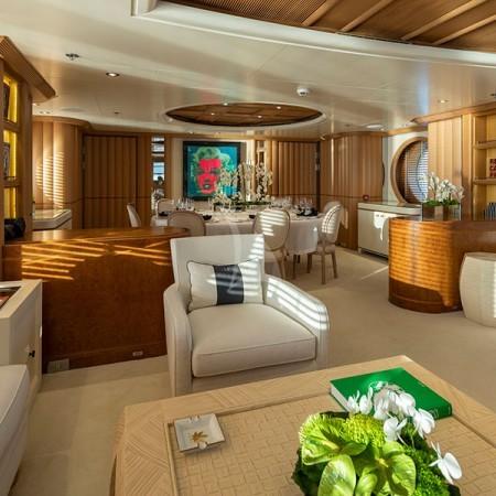 Marla yacht interior