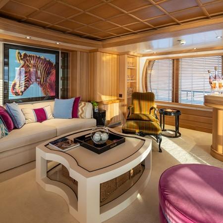 Marla yacht living area