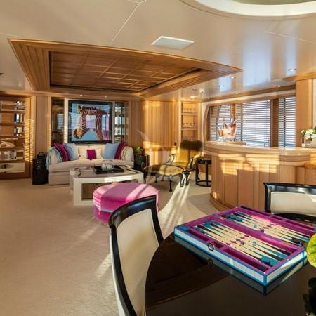 Marla yacht cabin interior