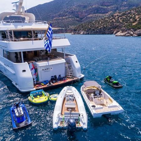 Marla yacht water toys