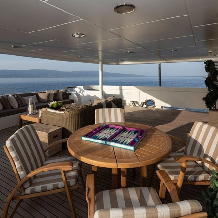 Marla yacht deck