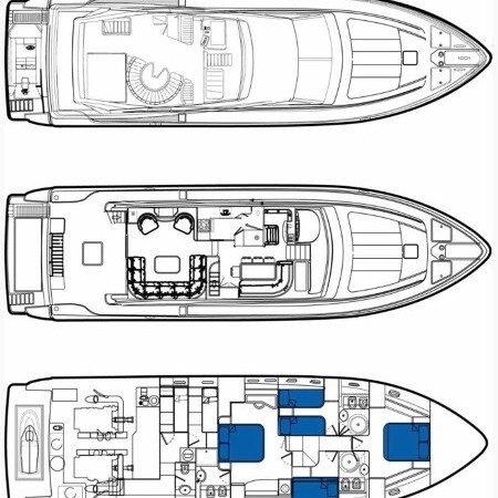 Meli yacht layout