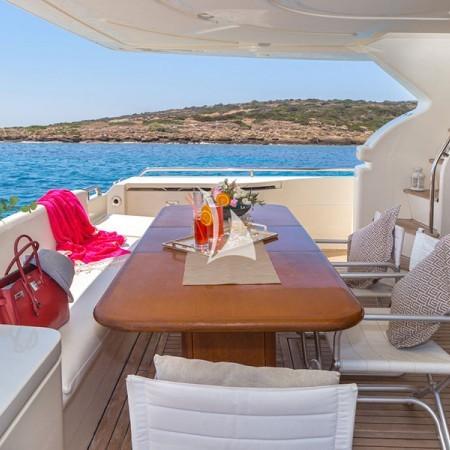 Meli yacht charter in Greece